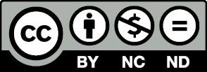 Logo CC BY-NC-ND