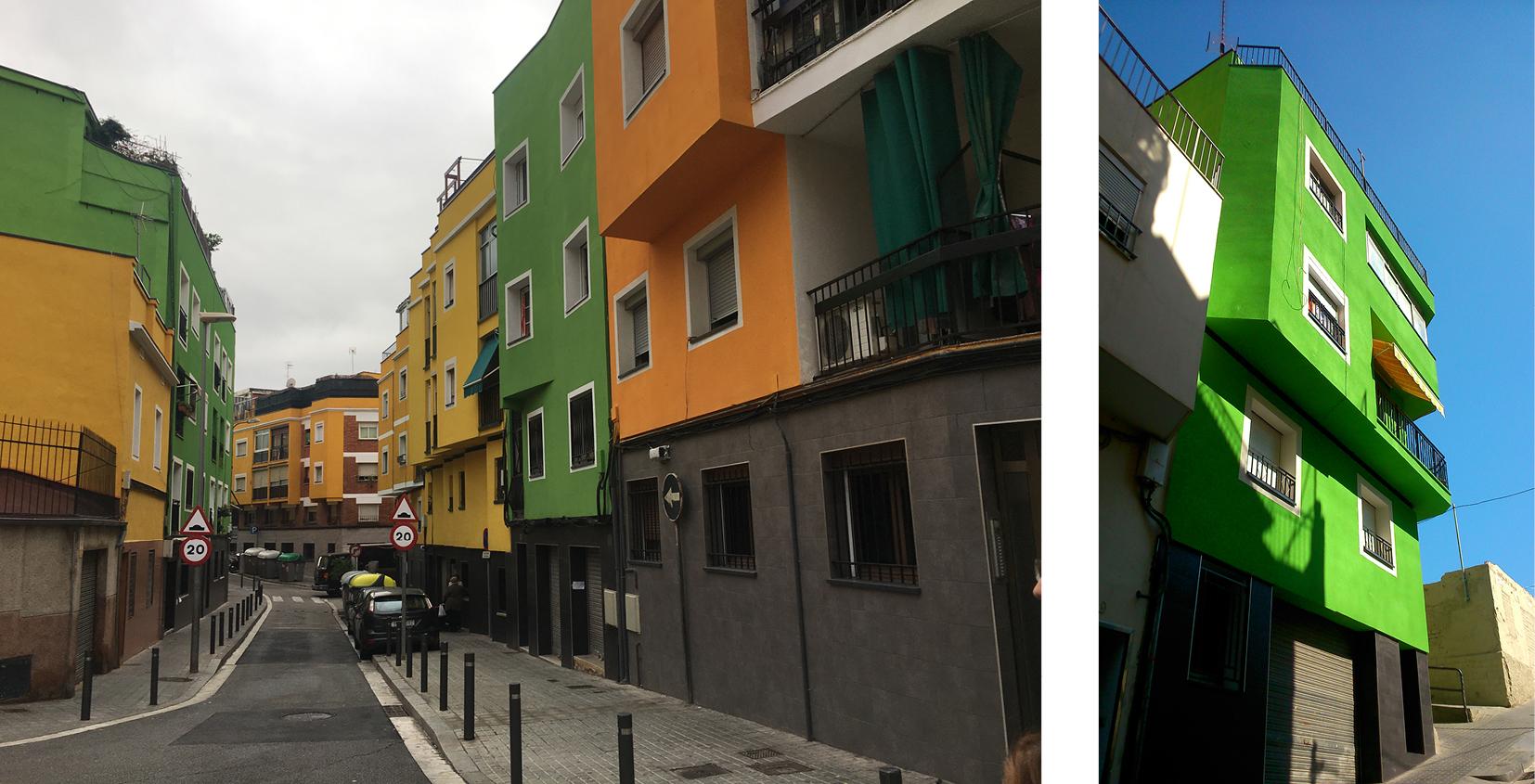 Fig. 6/ Imagen urbana de la intervención en Santa Coloma de Gramenet.