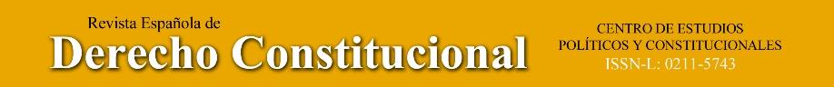Revista Española de Derecho Constitucional